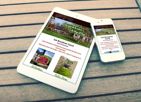 création site internet responsive calvados normandie