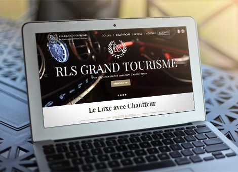 RLS Grand Tourisme – Site internet