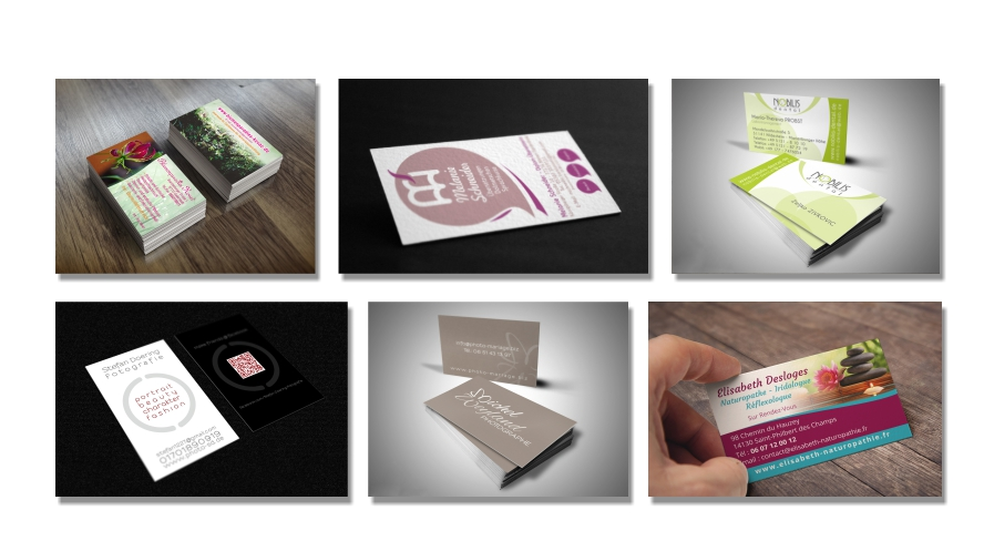cartes de visite création print graphiste calvados normandie