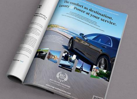 RLS Grand Tourisme – Publicité