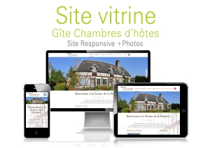 site internet gîte chambres hôtes calvados normandie
