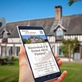 sites internet gîte chambres d'hôtes lisieux calvados normandie