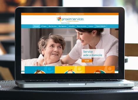 Proxim'Services Pays d'Auge – Site internet