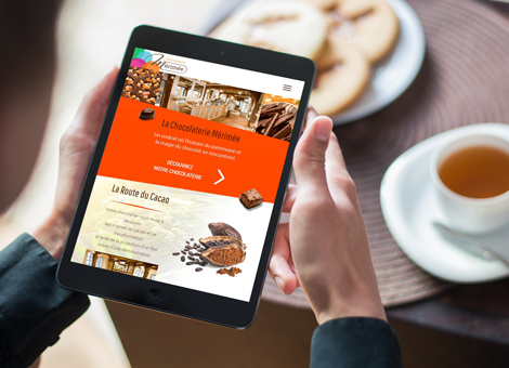 Chocolaterie Mérimée – Site internet