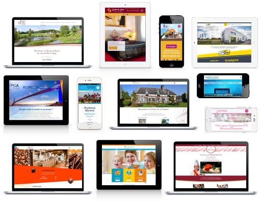 webmaster création sites internet agence web calvados