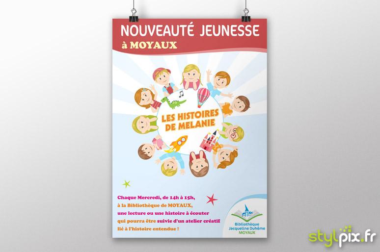 créateur flyer print moyaux calvados