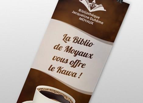 Bibliothèque de Moyaux – Communication