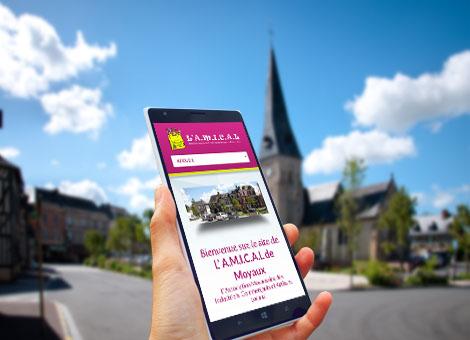 A.M.I.C.A.L à Moyaux – Site internet