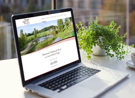 création site internet gite calvados