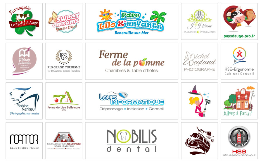 Logo Infographie création Normandie Calvados Stylpix
