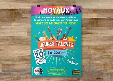 Soirée Jeunes Talents – Affiche/Flyers
