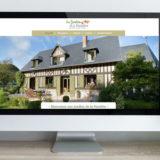 création site web chambre d'hôtes gîte normandie