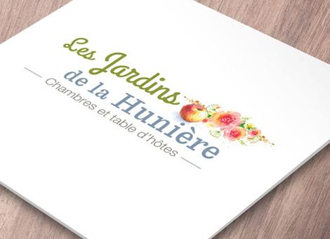 Jardins de la Hunière – Logo