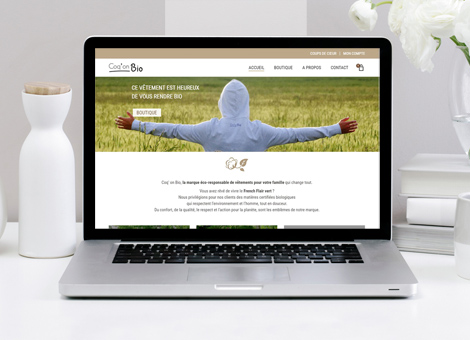 Coq' on Bio – e-commerce