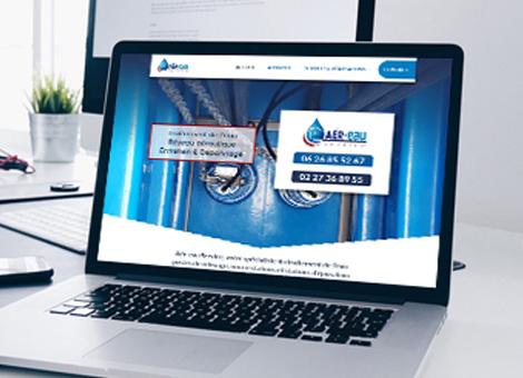 Aér-eau Service – Site internet