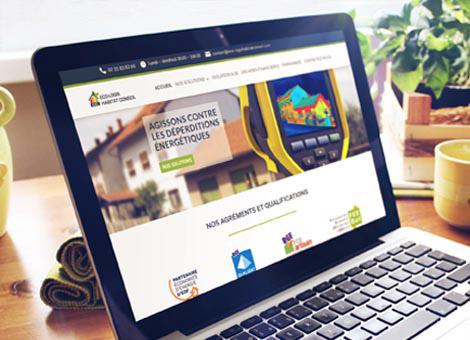 Eco-Logis Habitat Conseil – Site internet