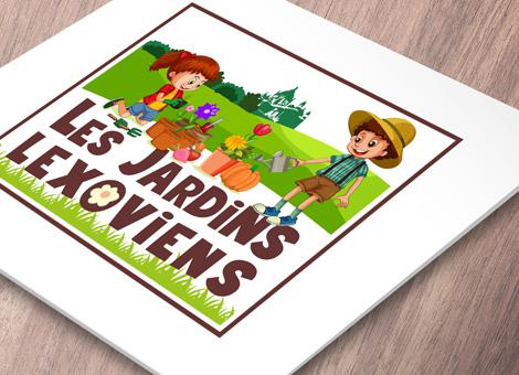 Les Jardins Lexoviens – Logo