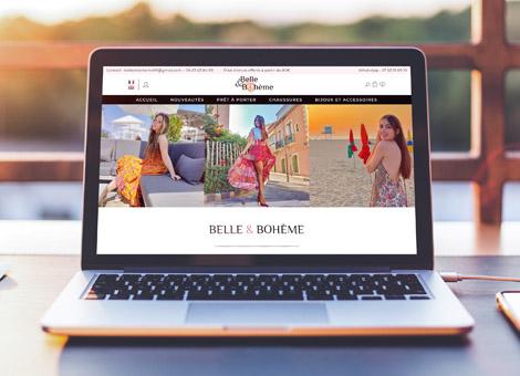 Belle & Bohème – ecommerce