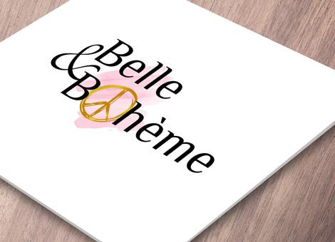 Belle & Bohème – Logo